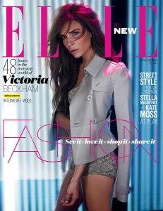 Se viene una sexy sesión fotográfica de Victoria Beckham… por ahora la portada (IMPERDIBLE)
