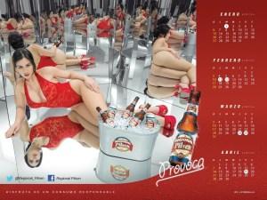 """Diosa Canales """"Provoca"""" en su nuevo calendario (Fotos)"""
