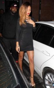 Rihanna y sus transparencias (Foto)