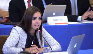 Tamara Sujú a María Corina: Los crímenes de lesa humanidad pueden activar la justicia internacional