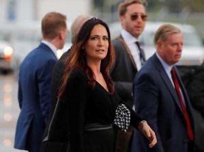 Stephanie Grisham renunció a la prensa de la Casa Blanca para trabajar con Melania Trump