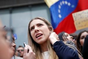 Fabiana Rosales aplaudió la protesta simbólica de los venezolanos contra el régimen