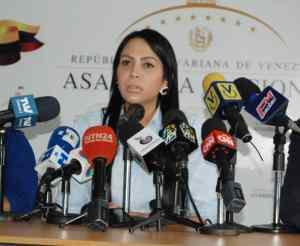 Delsa Solórzano representó a la AN en la sesión plenaria del ParlAméricas