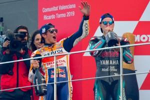 Marc Márquez ganó el Gran Premio de Valencia