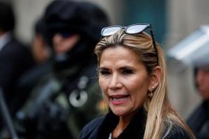 Jeanine Áñez cancela viaje debido a amenaza creíble contra su vida