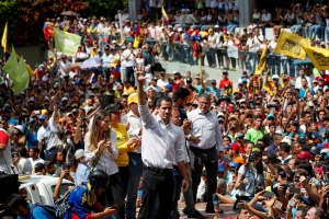 Ante protestas generalizadas, Guaidó afirmó que Venezuela no se va a acostumbrar a la tragedia
