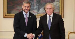 Almagro reconoce papel relevante de Paraguay en salida de Morales de Bolivia