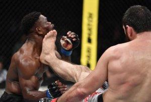 Un luchador ruso de la UFC noquea a su rival con una devastadora patada (Fotos y Video)