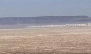 El VIDEO de la piloto Jessi Combs justo antes de morir a 885 k/h