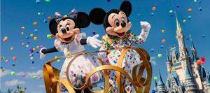 Mickey y Minnie Mouse celebran sus 91 años