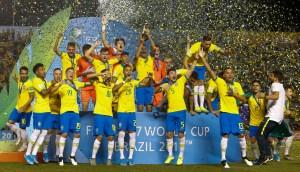 Un gol en el descuento le da el Mundial Sub-17 a Brasil contra México