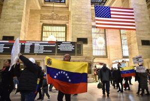 Venezolanos en Nueva York apoyaron llamado a protestanacional