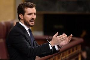 Pablo Casado: El PP no descansará hasta que Maduro y su cohorte sean juzgados (Video)