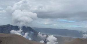 Erupción del volcán filipino Taal dejó un paisaje de desolación