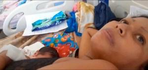 Parto en jardines del Hospital Uyapar desnuda calvario de parturientas en sistema público de salud