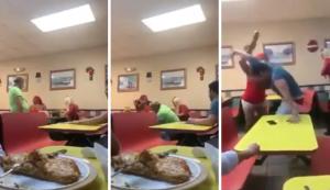 EN VIDEO: Acoso a dos transexuales en un restaurante de Miami termina en una brutal golpiza