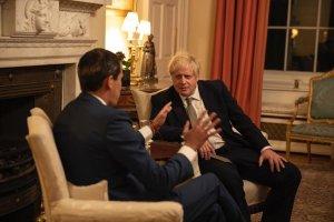 """Guaidó tras encuentro con Boris Johnson: """"Ha sido y será un socio fundamental para el pueblo venezolano"""""""