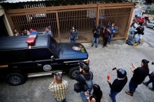 Dgcim allana la casa del tío de Juan Guaidó (Fotos)