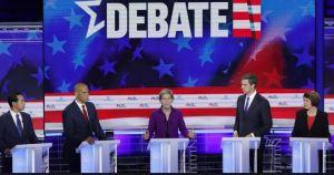 Demócratas que aspiran llegar a la Casa Blanca protagonizaron un feroz debate