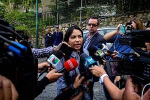 Delsa Solórzano alza su voz por la libertad de los presos políticos secuestrados en los calabozos del régimen