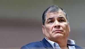 Rafael Correa armó una lloradera por la farsa electoral del #6Dic