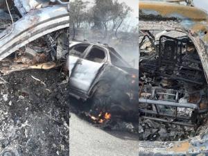 Una familia murió calcinada en accidente de tránsito en Portuguesa