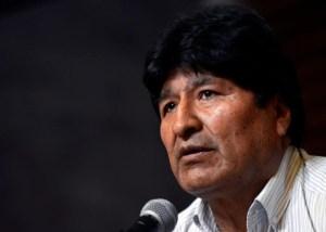 Evo Morales sumó otra denuncia en Bolivia, esta vez también por genocidio