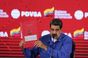 """Maduro promete revivir un muerto """"Tengo más de USD 25 mil millones en ofertas de inversión para Pdvsa"""""""
