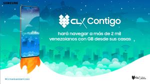CLX Contigo hará navegar a más de 2 mil venezolanos con GB desde sus casas