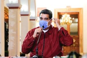 """Maduro ofrecerá """"importantes anuncios"""" sobre la nueva semana de """"flexibilización"""""""
