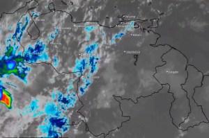 El estado del tiempo en Venezuela este jueves #9Abr, según el Inameh