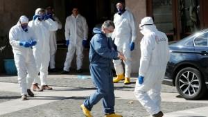 El número de enfermos en cuidados intensivos en Italia sigue a la baja