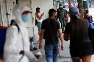 Régimen chavista contabilizó al menos 282 casos nuevos de coronavirus en Venezuela