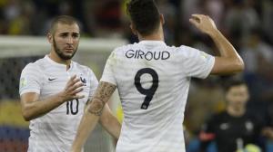 Olivier Giroud no se guardó nada y respondió a las críticas de Karim Benzema