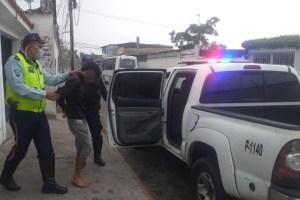 Detenido un sujeto que golpeaba a dos niños y una mujer en Táchira
