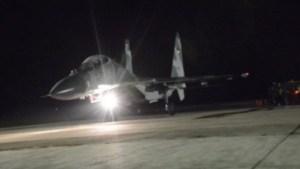 Aviones Sukhoi del régimen de Maduro siguen sobrevolando en Anzoátegui #9Abr (Video)
