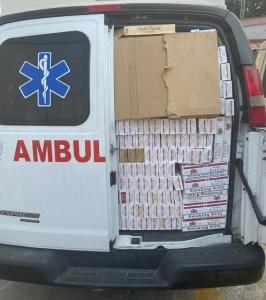 ¿Trabajan con los rusos? Detuvieron a militares en Falcón por contrabandear cigarros en una ambulancia (FOTOS)