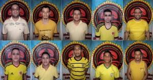 Estos son 18 rostros e identidades de los 20 detenidos fugados del Cicpc Cabimas (fotos)