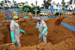 Brasil se acerca a las 172 mil muertes por coronavirus