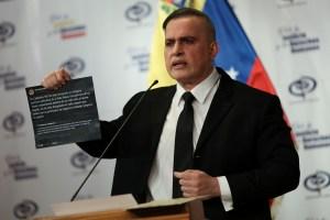 """Tarek William Saab asegura que el informe de la ONU sobre Venezuela fue """"financiado por el Grupo de Lima"""""""