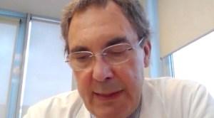 Un experto italiano asegura que la carga viral del coronavirus es 100 veces menor que en marzo