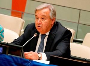 Guterres: Latinoamérica necesita solidaridad internacional ante la Covid-19