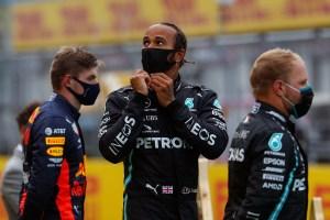 No lo frena ni el coronavirus: Hamilton, en lo más alto del podio en Austria (FOTOS)