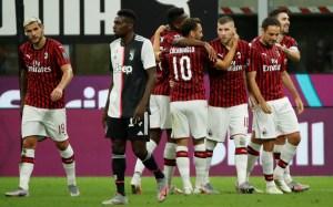 El Milán aplazó el título liguero de la Juventus con una remontada épica