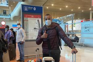 El venezolano Wuilker Fariñez llega a Francia para unirse a su nuevo equipo (FOTO)