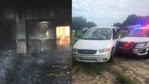 Hombre del condado de Marion enciende fuego en iglesia con gente adentro