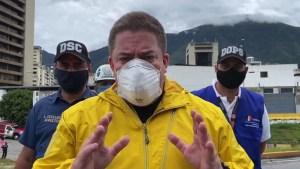 Gustavo Duque informó que tres vías estarán cerradas tras el colapso del distribuidor Altamira (Video)
