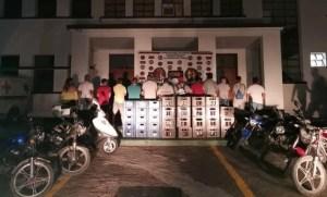 """Detenidos 13 hombres que jugaban y """"rumbeaban"""" en un salón de billares en San Antonio del Táchira"""