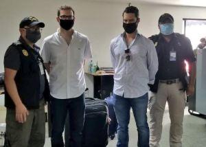 Hijos de Ricardo Martinelli fueron enviados a prisión preventiva en cuartel de Guatemala