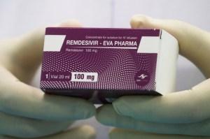 Estudio reveló que remdesivir redujo el riesgo de muerte en pacientes con Covid-19